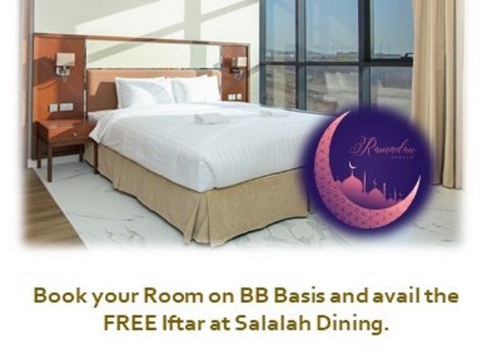 ROOM ON BB AND IFTAR FOR FREE