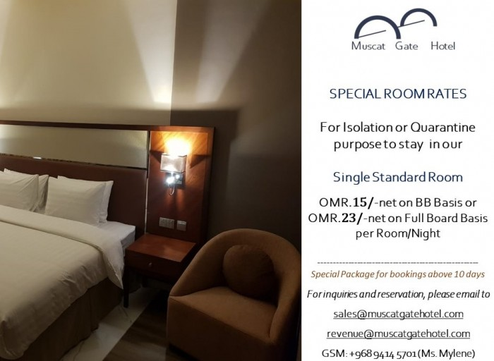 SPECIAL ROOM RATES